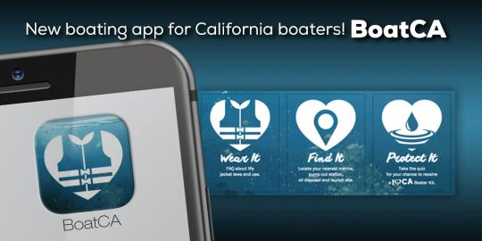 Boating App Graphic