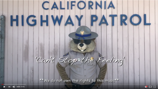 CA Highway Patrol Lip Sync Challenge Video Link